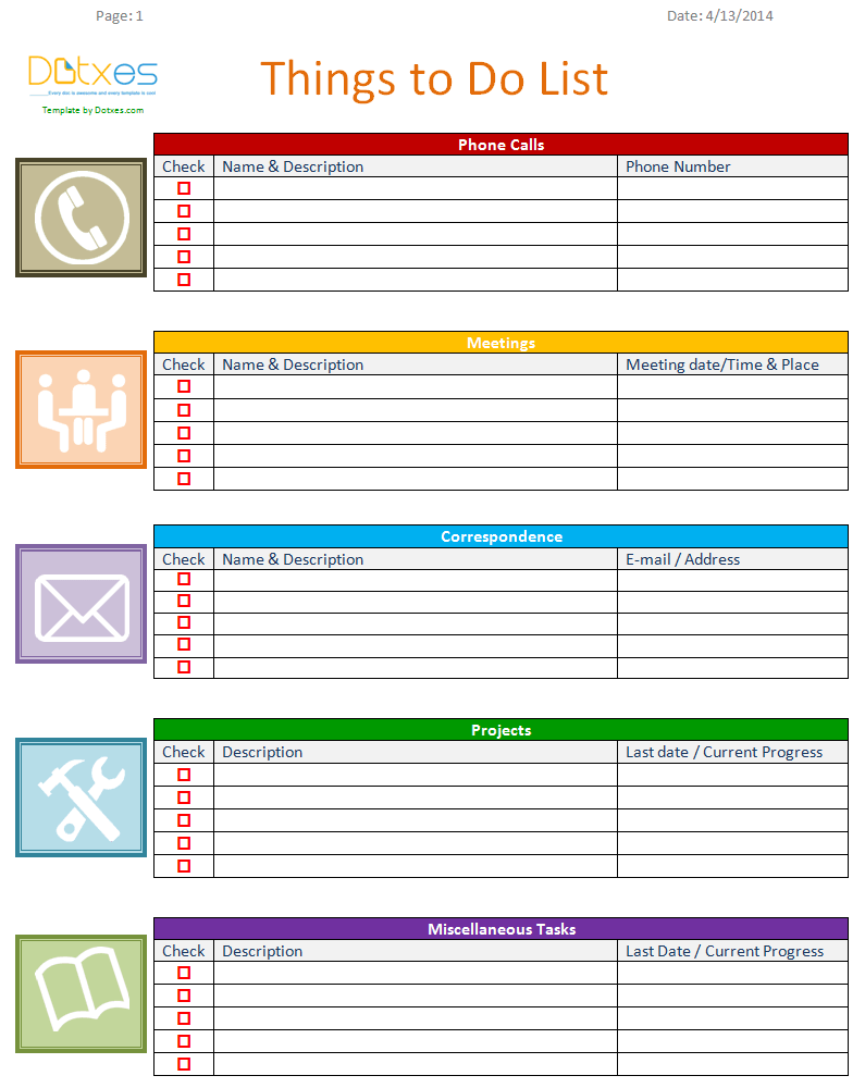 Microsoft Word List Template from www.printablestodolists.com
