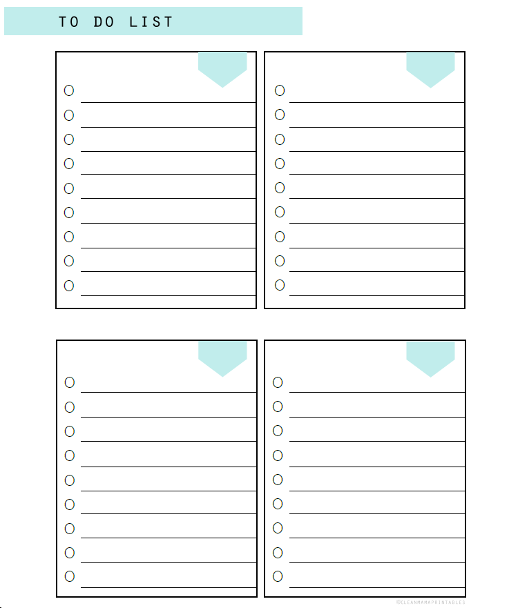 photograph about To Do Printable named 5 Printable In direction of Do Record Templates Printable Towards Do Lists
