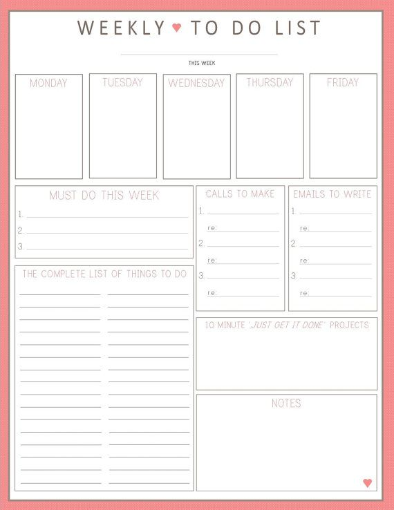 printable contact list sheet