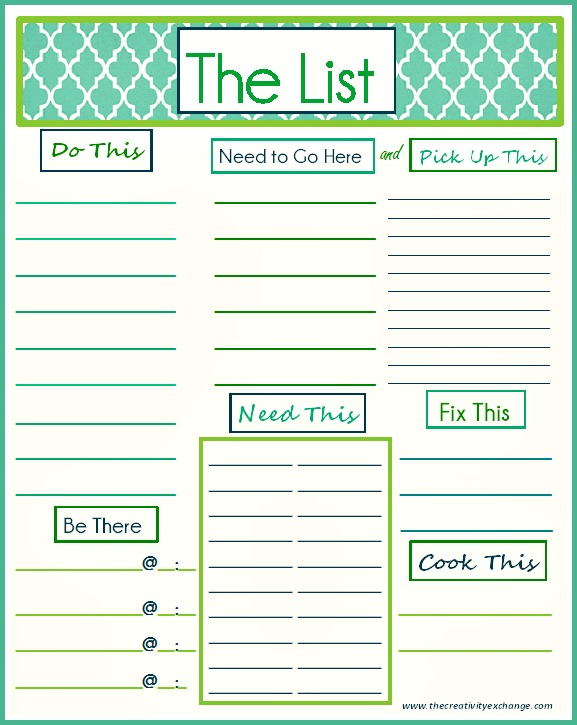 It is a graphic of Free Printable to Do List Pdf within checklist template